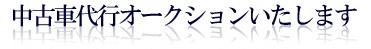 ���Îԑ�s�I�[�N�V�����������܂�